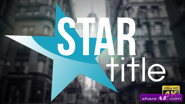 Videohive 20 Star Titles