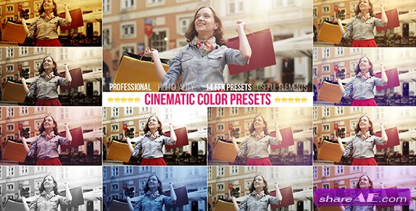 Videohive Cinematic Color Presets