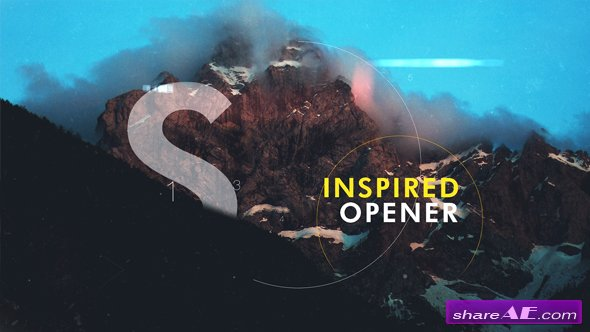 Videohive Inspired Slideshow I Opener 17915717