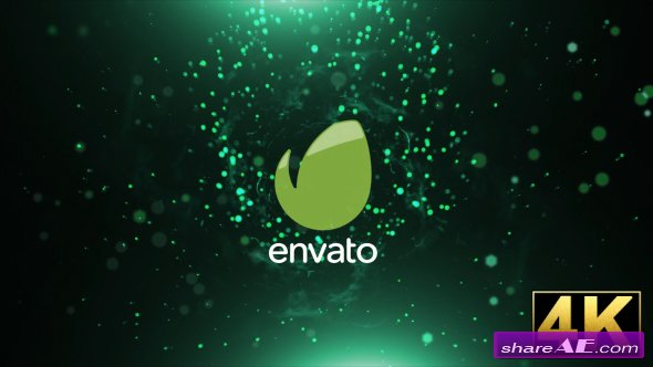 Videohive Particle Wave Logo