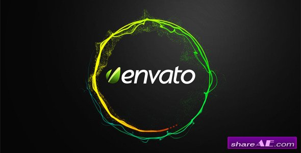 Videohive Shiny Circle Logo Reveal