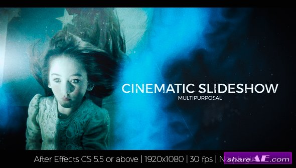 Videohive Cinematic Slideshow 17727253