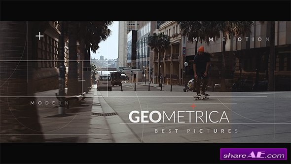 Videohive Geometrica // Opening Titles