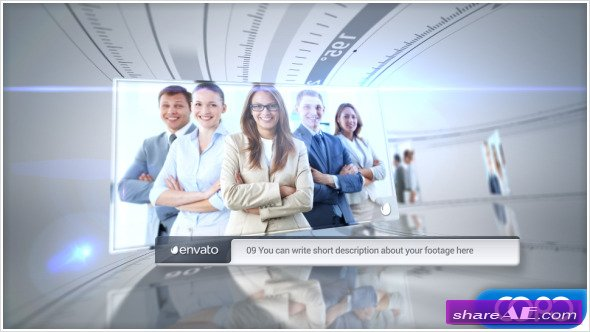Videohive New Corporate Timeline