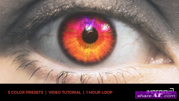 Videohive Eye Audio React