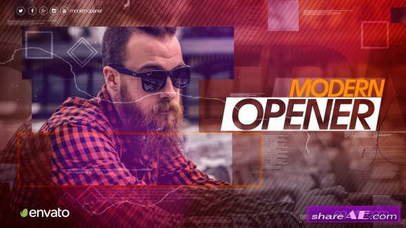 Videohive Modern Opener