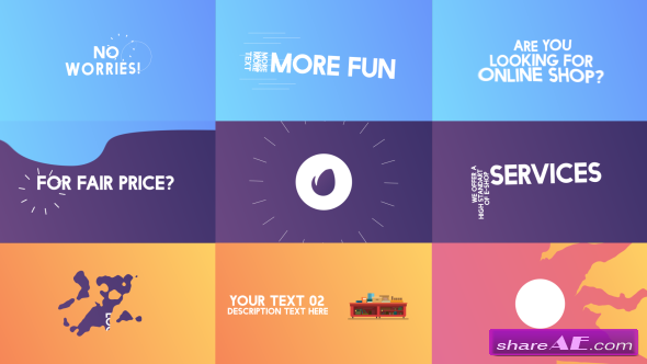Videohive Kinetic Typography