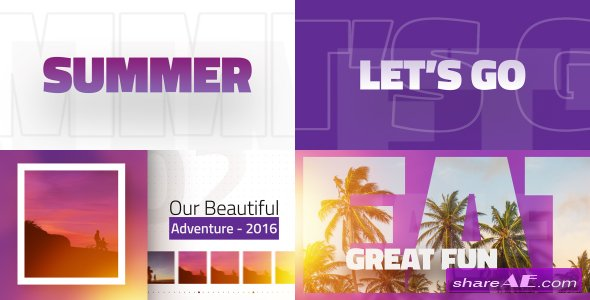 Videohive Our Beautiful Adventure
