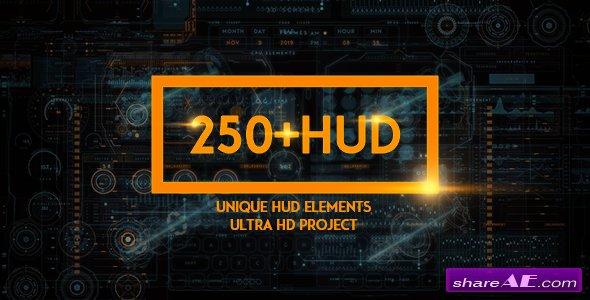 Videohive 250 HUD SCI-FI