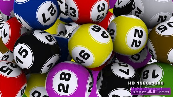 Lotto Balls Transition - Motion Graphic (Videohive)