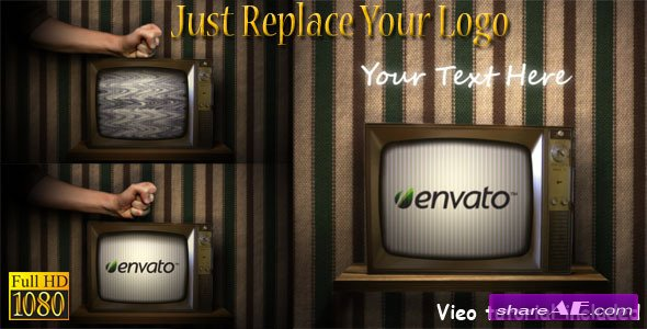 Videohive Old Broken TV