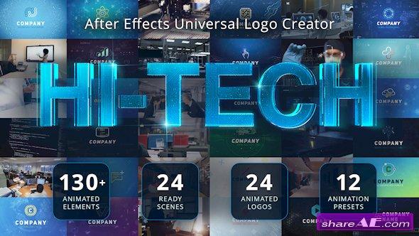 Videohive Ultimate Hi-Tech Logo Generator