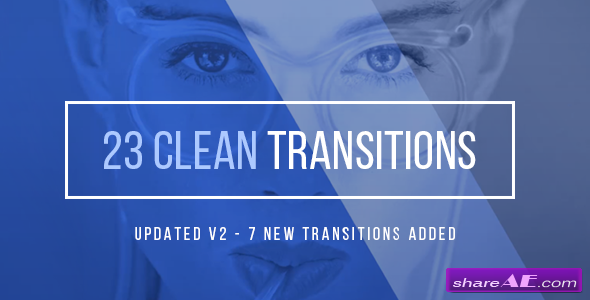 Videohive Clean Corporate Transitions