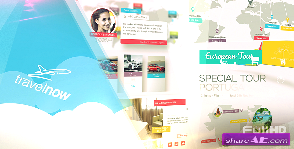 Videohive Travel Agency // Corporate Pack