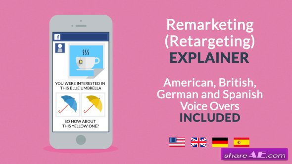 Videohive Remarketing / Retargeting Explainer