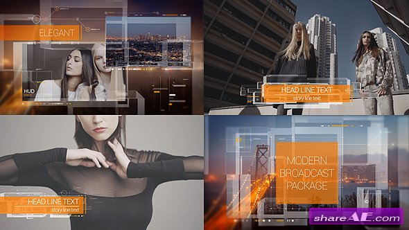 Videohive Modern Broadcast Package