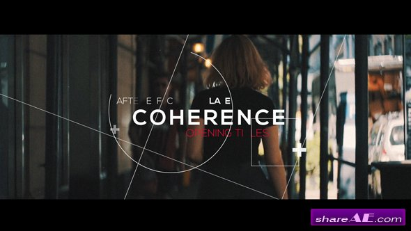 Videohive Coherence | Opening Titles