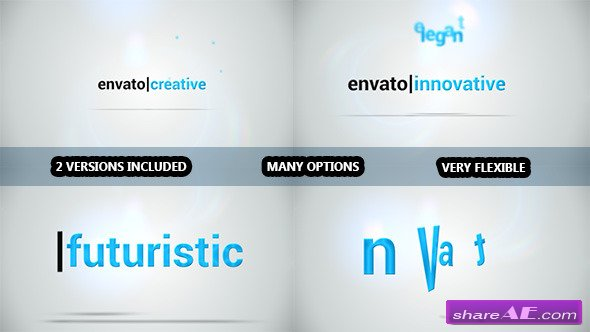 Videohive A Few Words