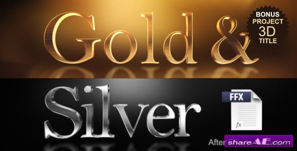 Videohive Gold & Silver Presets