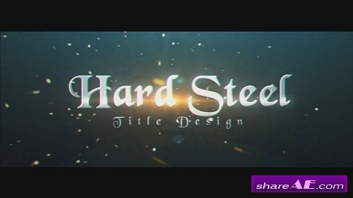 Hard Steel - After Effects Project (Motion Array)