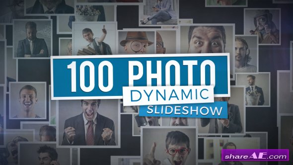Videohive 100 Photo - Dynamic Slideshow