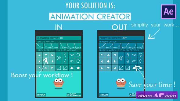 Videohive Animation Creator - Infinite Possibilities of Anim