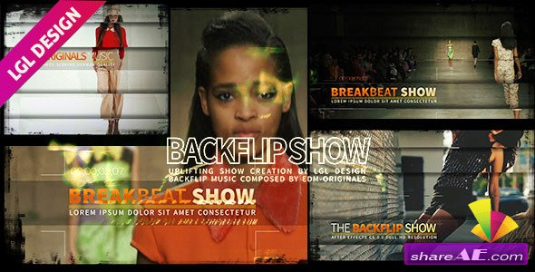Videohive The House Backflip Show