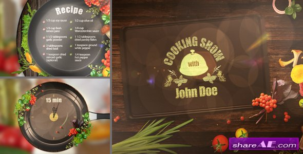 Videohive Cooking TV Show Pack
