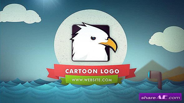 Videohive Cartoon Logo Reveal