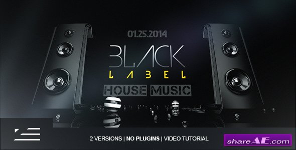 Videohive Black Label | Club Event Promo