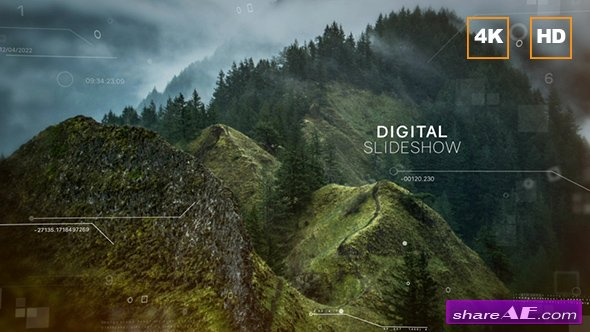 Videohive Digital Slideshow 4K