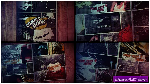 Videohive Comics Book