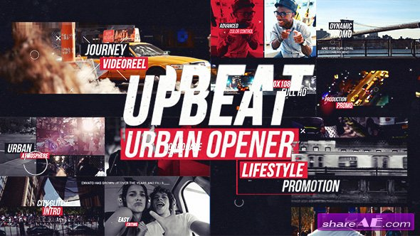 Videohive Upbeat Dynamic Urban Opener