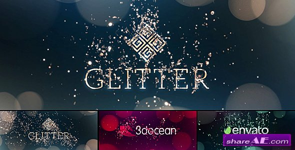 Videohive Glitter Particles | Logo Reveal Pack