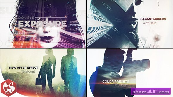 Videohive Double Exposure Slideshow 18478037