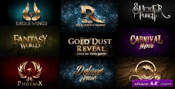 Videohive Gold Dust Reveal