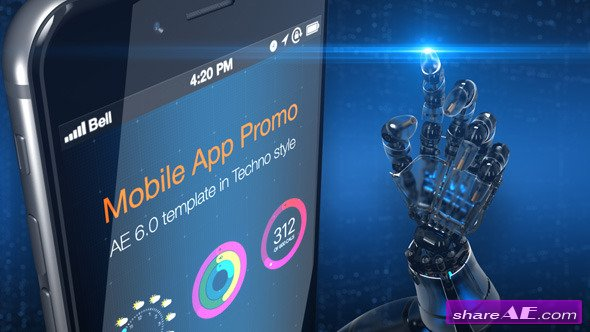 Videohive Mobile App Promo Pack