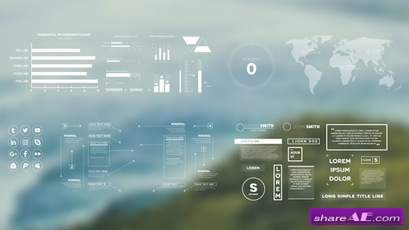 Videohive Simple Infographics