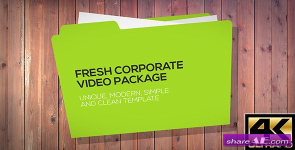 Videohive Fresh Corporate Video Package