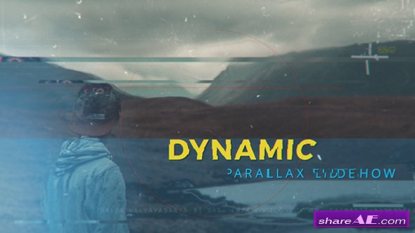 Videohive Dynamic Parallax I Slideshow