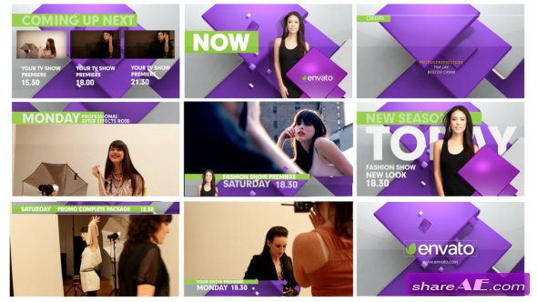 Videohive Broadcast TV Graphic Package