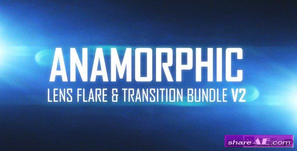 Anamorphic Lens Flare & Light Transitions Bundle V2 - Stock Footage (Videohive)