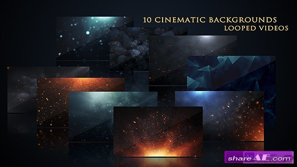 Cinematic Background Pack - Motion Graphics (Videohive)