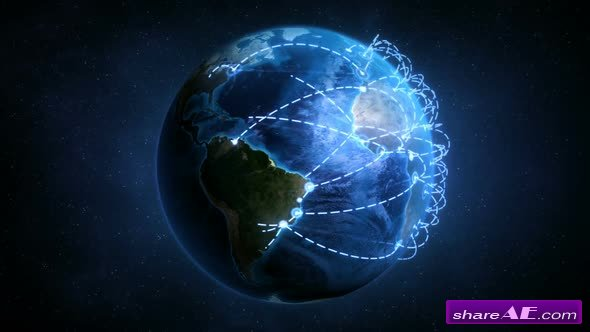 Digital Connected World - Motion Graphics (Videohive)