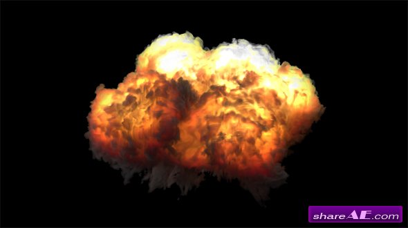 Explosion - Motion Graphic (Videohive)