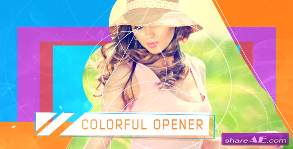 Videohive Colorful Opener