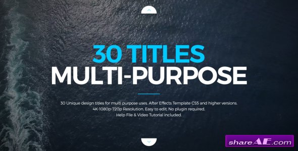 Videohive Titles Design Multi-Purpose