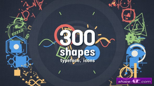 Videohive Shape Elements - Motion Graphics Pack