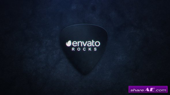 Videohive Plectrum Logo Reveal