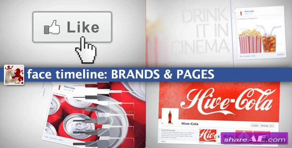 Videohive Face Timeline: Brands&Pages